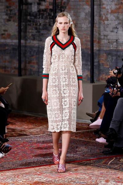 Дом Gucci представил новую круизную коллекцию 2016 | галерея [2] фото [6]