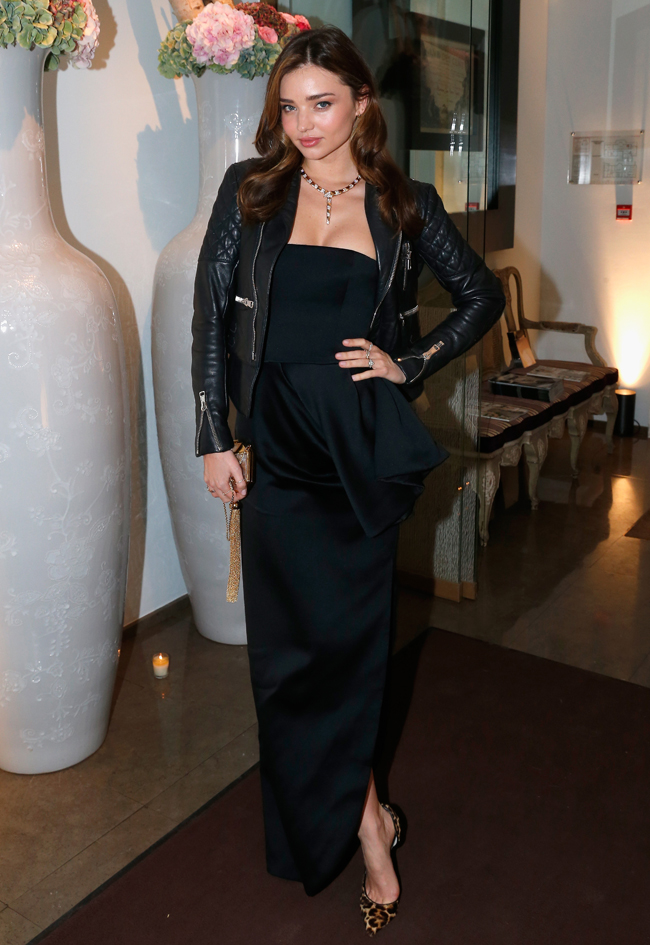 Миранда Керр в Christian Dior