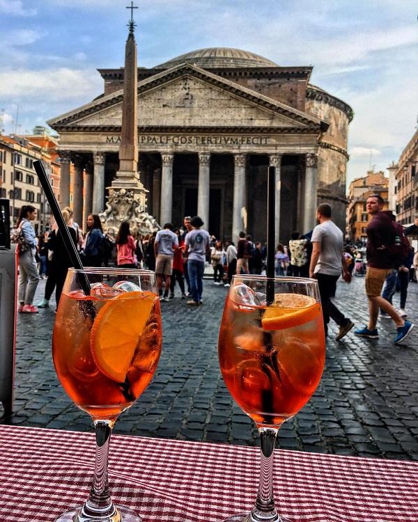 Место в Instagram: Рим, Италия