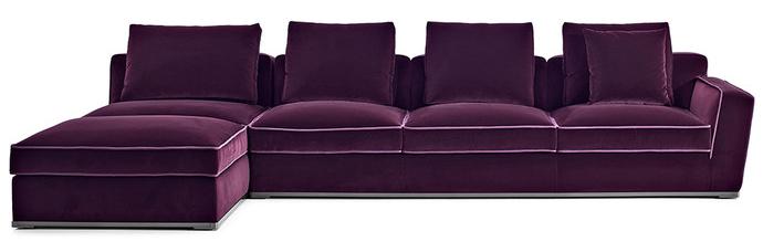 Угловой модульный диван Solatium, дизайн Антонио Читтерио для Maxalto, www. bebitalia. com, галерея Altagamma.