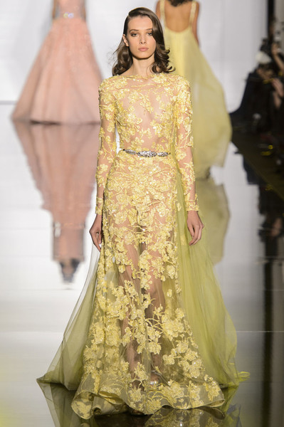 Показ Zuhair Murad Haute Couture | галерея [1] фото [17]