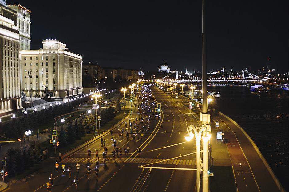 В Москве состоялся Ночной забег 2016