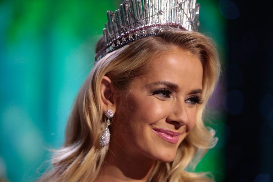 Оливия Джордан на конкурсе «Мисс США»