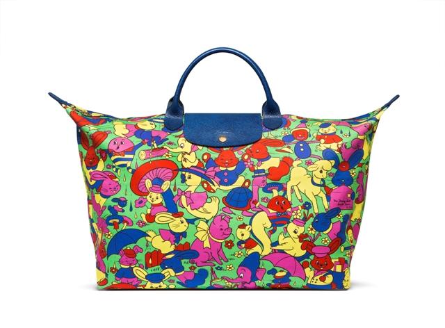 Джереми Скотт создал коллекцию для бренда Longchamp
