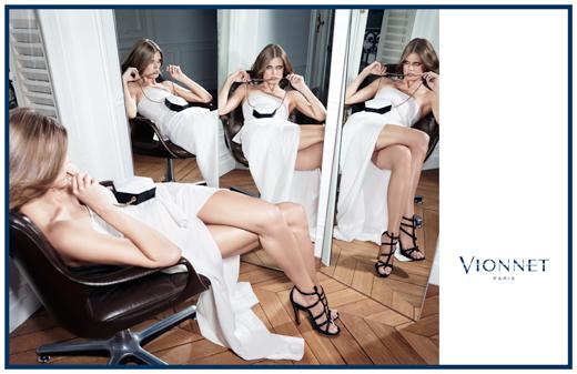 Рекламная кампания Vionnet осень-зима 2013-2014