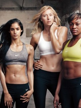 Энни Лейбовиц для Nike