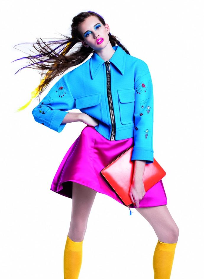 цветной представил лукбук весна лето 2015