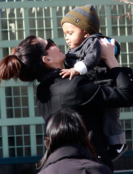 Сандра Буллок с сыном фото