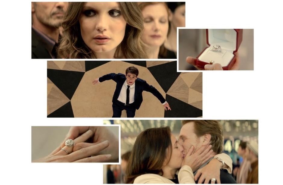 Дом Cartier представил видеоурок по идеальному сценарию предложения руки и сердца