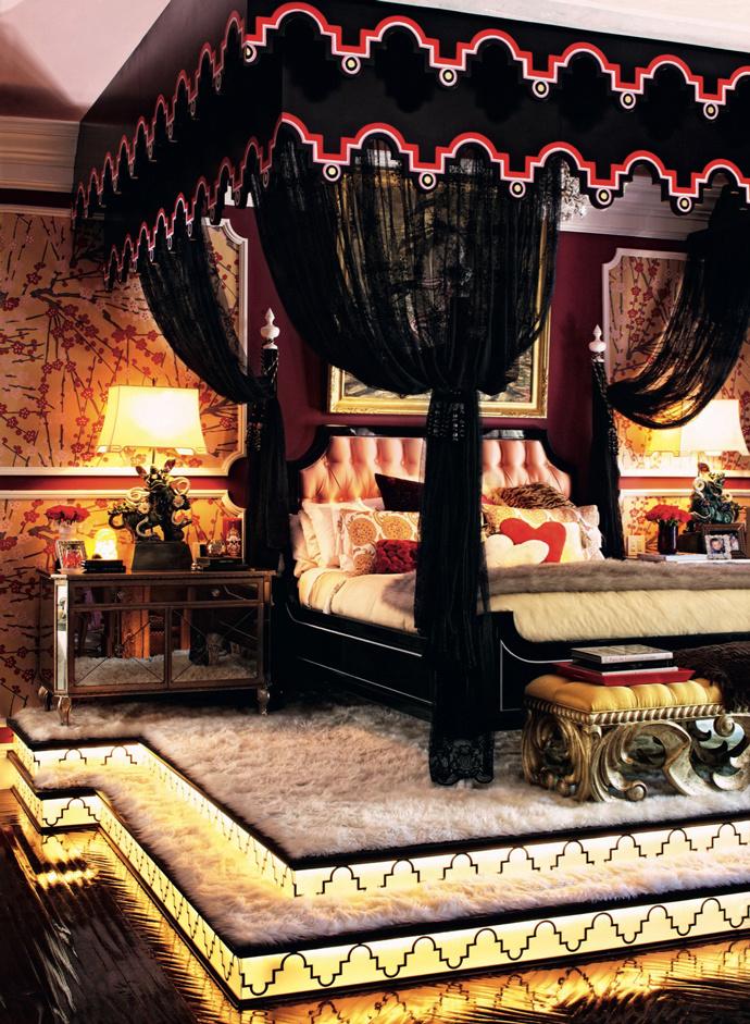 Спальня Кристины Агилеры