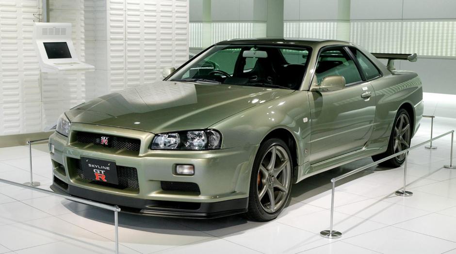 Nissan GTR — «Форсаж 4»