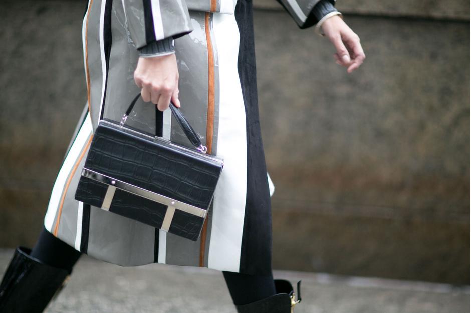 100 лучших street style образов Недели моды в Нью-Йорке