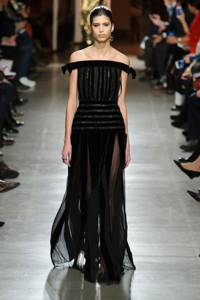 Показ Oscar de la Renta на Неделе моды в Нью-Йорке | галерея [1] фото [8]
