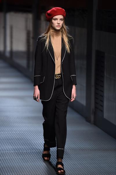 Показ Gucci на Неделе моды в Милане | галерея [1] фото [12]