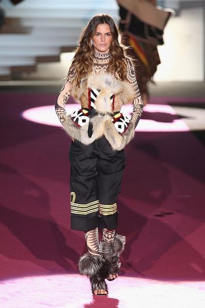 Показ DSquared2 на Неделе моды в Милане | галерея [2] фото [5]
