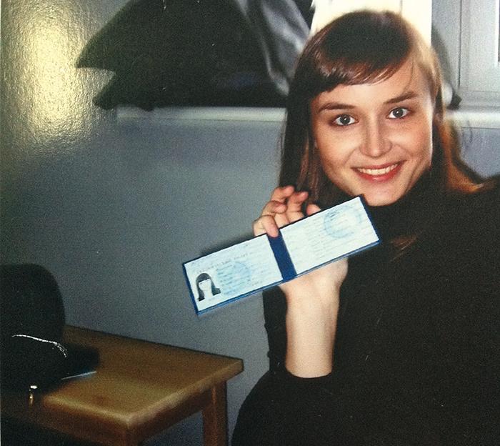 Полина Гагарина в молодости