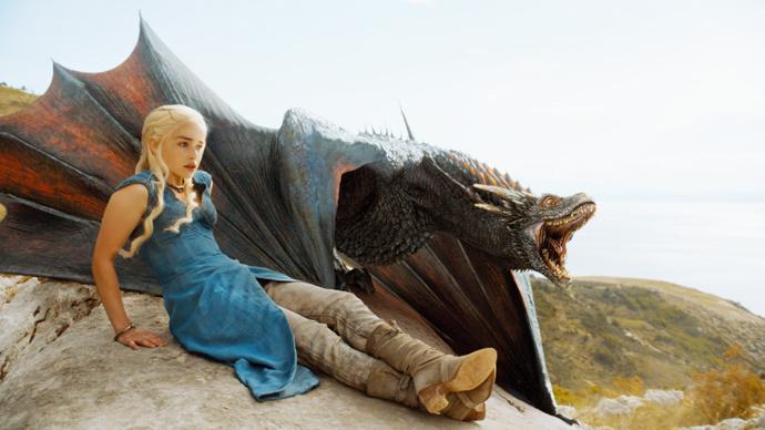 дейенерис и дракон игра престолов