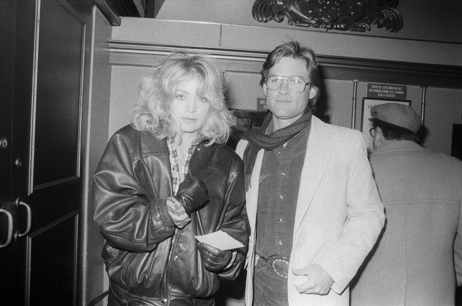 Голди Хоун и Курт Рассел фото