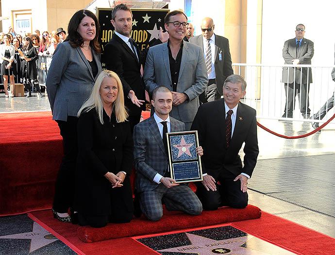 Звезда Дэниэла Рэдклиффа появилась на Аллее Славы в Голливуде