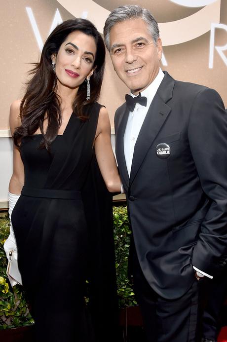 Джордж Клуни с женой: фото