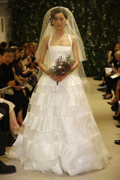 Показ Carolina Herrera на Неделе свадебной моды в Нью-Йорке | галерея [1] фото [1]