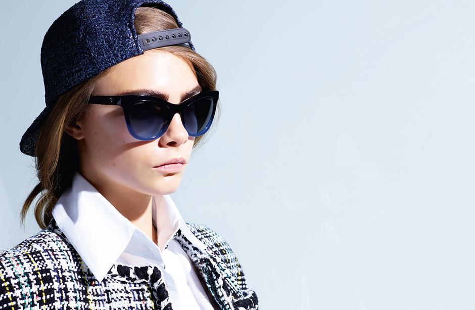 Кара Делевинь снова стала рекламным лицом Chanel