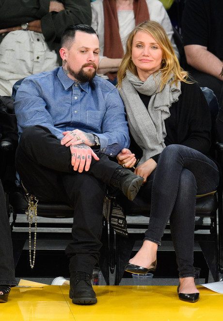 Кэмерон Диас с мужем: фото