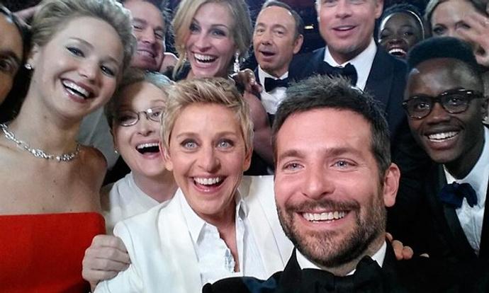 Эпическое селфи с «Оскара-2014»