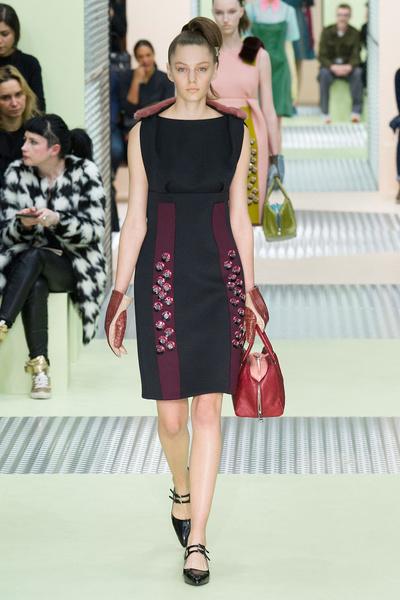 Показ Prada на Неделе моды в Милане | галерея [1] фото [16]