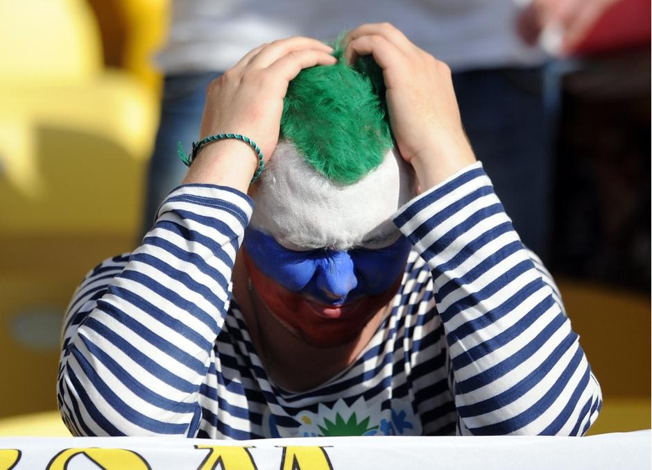 Сборная России проиграла команде Бельгии на Чемпионате мира по футболу