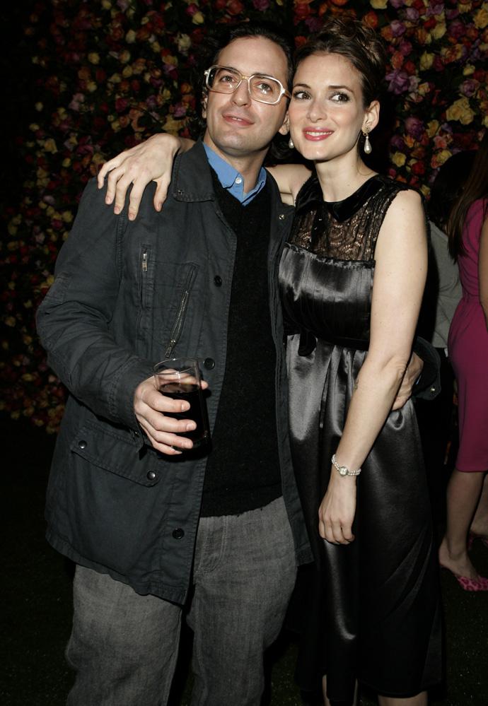 Марк Джейкобс и Вайнона Райдер, 2005 год
