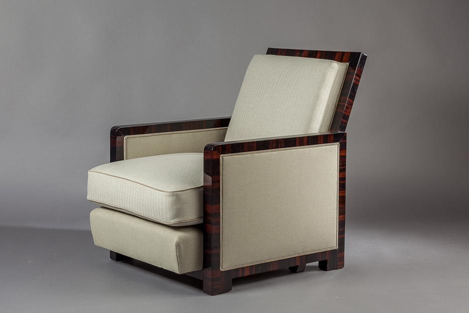 Мягкое кресло, Жак Адне, Франция, 1928 г.