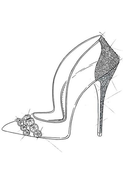 Известные дизайнеры обуви представили свои версии туфель Золушки | галерея [1] фото [3]