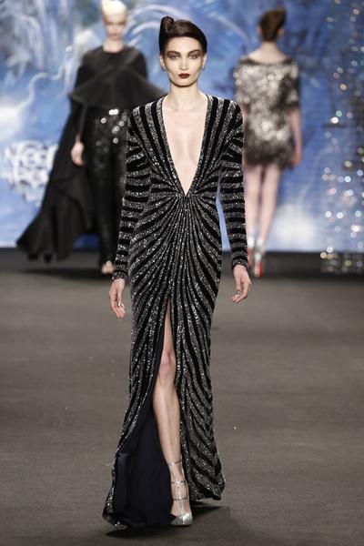 Самые роскошные вечерние платья Недели моды в Нью-Йорке | галерея [3] фото [7]