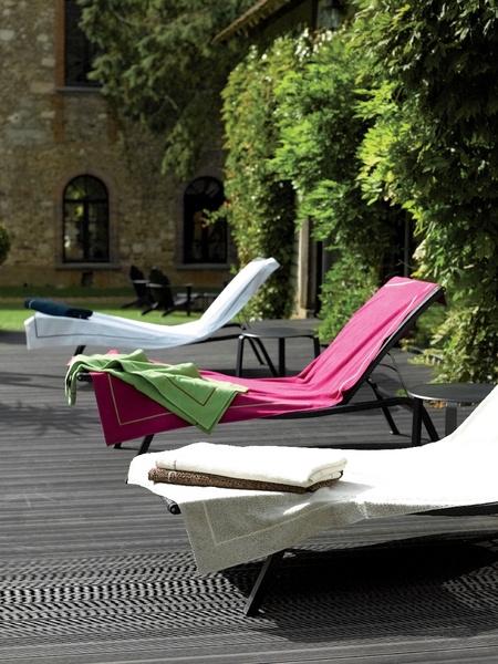 Яркие пляжные полотенца Yves Delorme и Ralph Lauren Home | галерея [1] фото [1]