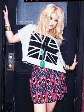 Келли Осборн в осенней кампании Material Girl