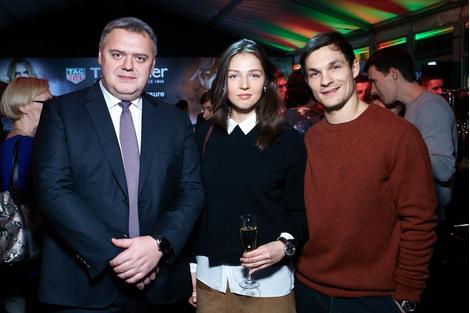 Звезды на открытии бутика Tag Heuer в Москве | галерея [1] фото [4]