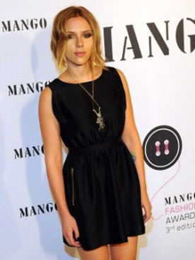 Скарлетт Йоханссон на Mango Fashion Awards