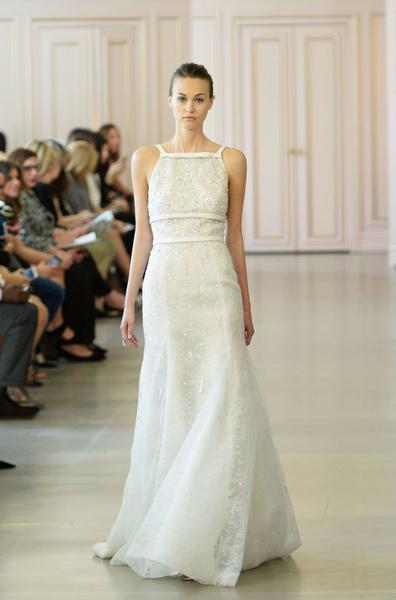 Дом Oscar de la Renta представил новую свадебную коллекцию | галерея [1] фото [22]