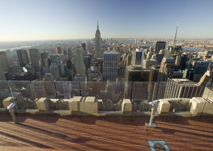 Top of the Rock, Нью-Йорк, США