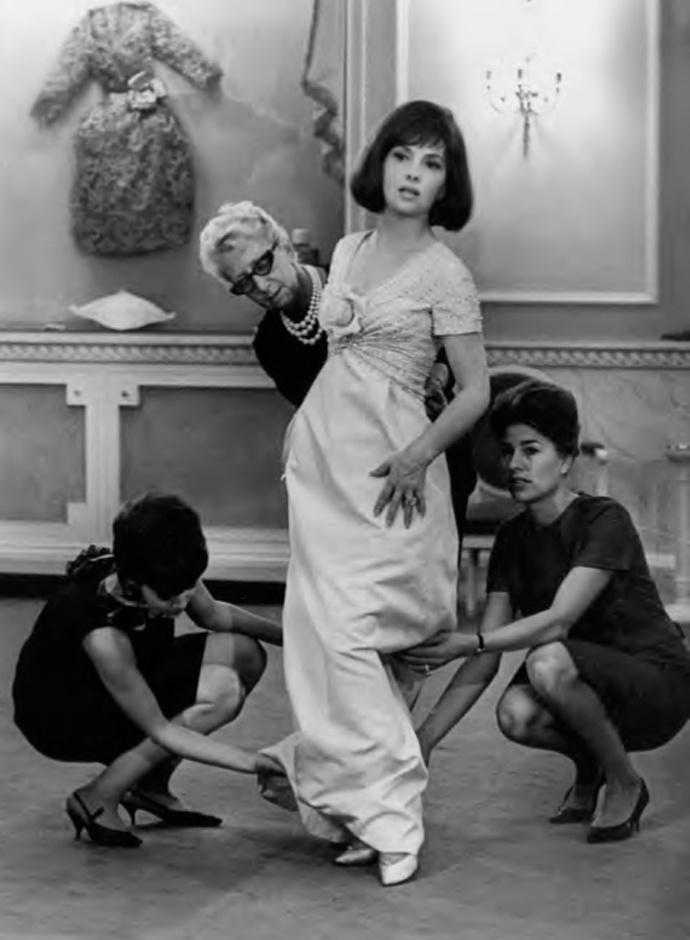 Джина Лолобриджида в Dior