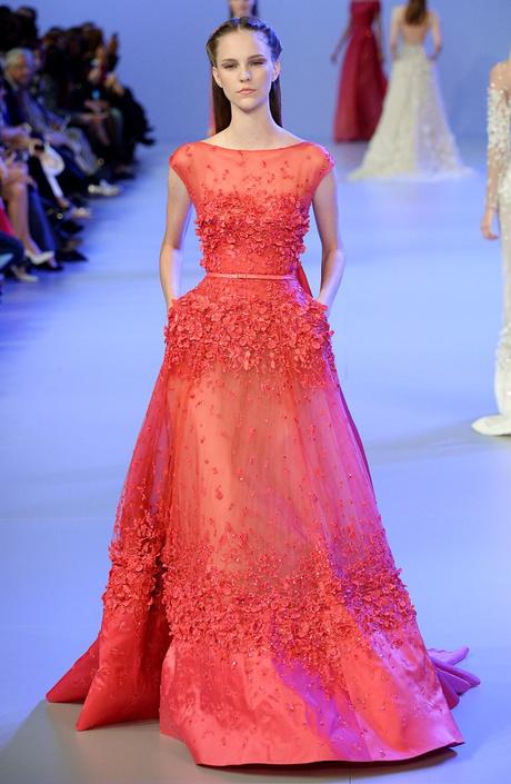 Прямая трансляция показа Elie Saab Haute Couture