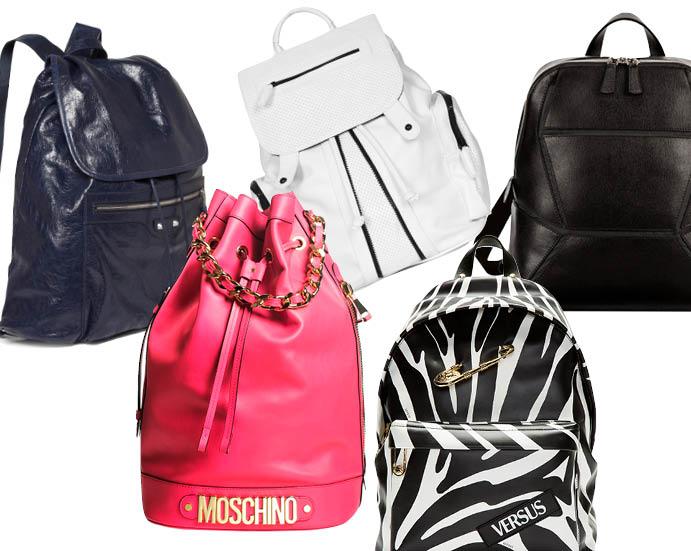 Balenciaga; Topshop; FURLA; Moschino; Versus Versace