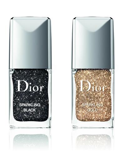Dior выпустил сверкающую пудру для маникюра Nail Sparkling Powders