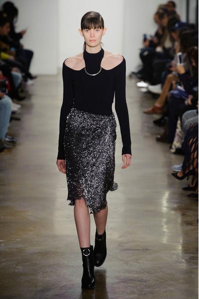 Самые красивые образы Недели моды в Нью-Йорке | галерея [1] фото [57]