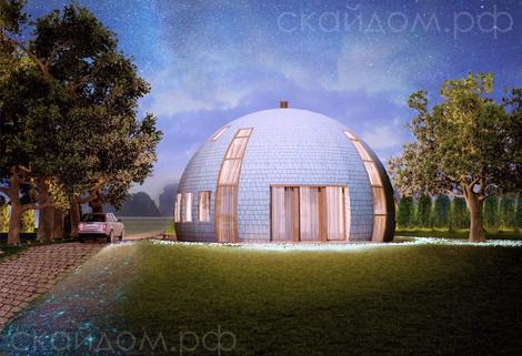 Купольные дома от российской компании | галерея [1] фото [4]