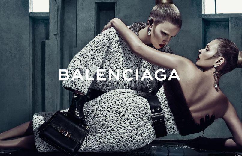 Кейт Мосс рекламирует Balenciaga