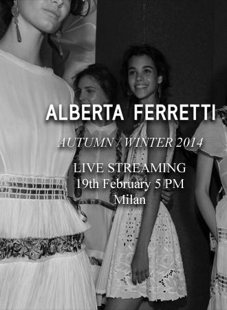 Прямая трансляция показа Alberta Ferretti на Неделе моды в Милане