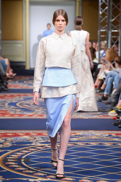 Показ осенне-зимней коллекции Ruban на Mercedes-Benz Fashion Week RussiaПоказ осенне-зимней коллекции Ruban на Mercedes-Benz Fashion Week Russia | галерея [2] фото [8]