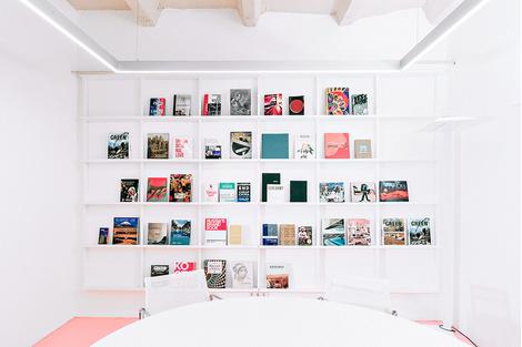 Жизнерадостный интерьер офиса: проект в деталях | галерея [1] фото [12]